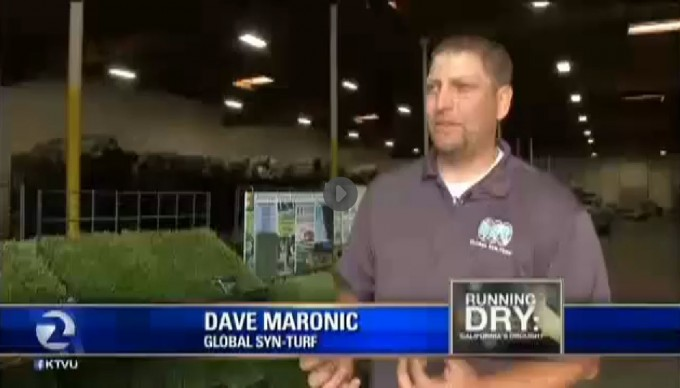 Artificial Grass | California Drought Salvation - Global Syn-Turf at San Francisco