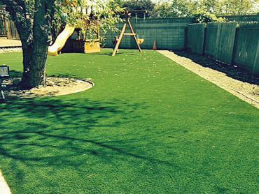 Artificial Grass Photos: How To Install Artificial Grass Rialto, California Backyard Playground, Backyard Ideas