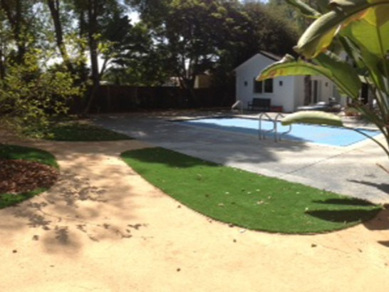 Turf Grass Hermosa Beach, California Lawns, Kids Swimming Pools artificial grass