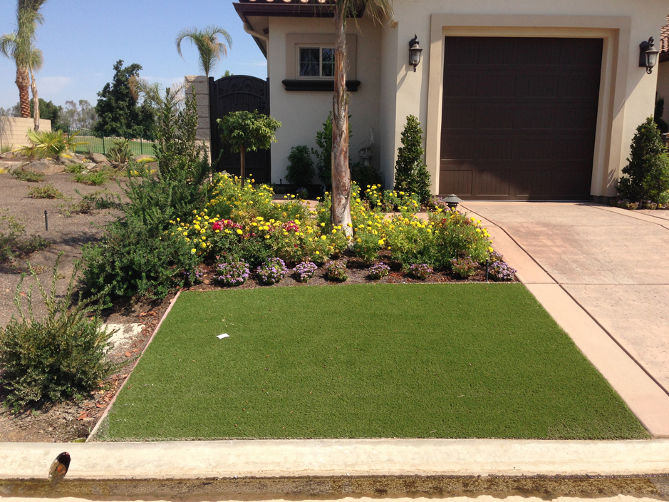 Artificial Turf Cost Ladera Ranch California Landscape Design Front Yard